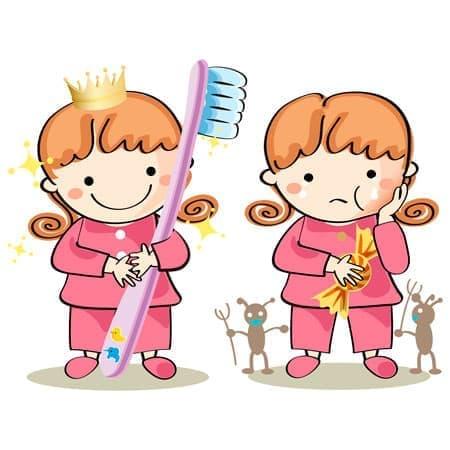 Зубы дети рисунок